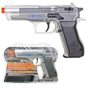 Officially Licensed Jericho 941 CO2 Airsoft Hand Gun Clear BB Gun