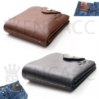 New Mens Genuine Leather CreditCard Wallet Coin Purse
