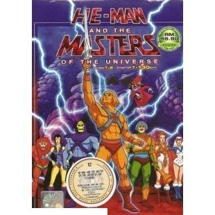 He Man And The Master Of The Universe Complete TV Series DVD Box Set