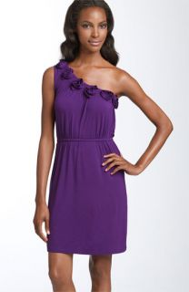 Design History Rosette Detail Jersey Dress