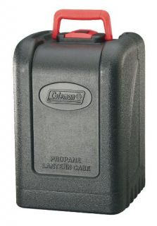 features of coleman propane lantern hard shell carry case fits coleman