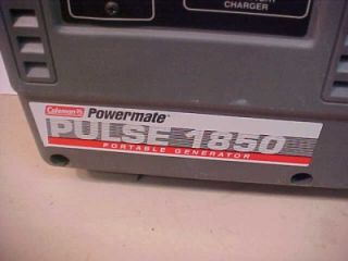 Coleman Powermate PM0401850 Pulse 1850 Portable Pulse Generator