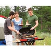 Brand New Coleman Roadtrip BBQ Grill LXE 9949 750 Red