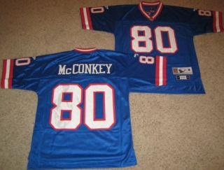 New York Giants McConkey Throwback Jersey Large Blue 80