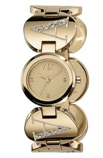 AX Armani Exchange Ladies Crystal Logo Watch