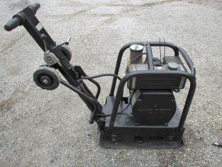 Weber Diesel Powered Soil Plate Compactor Tamper Compactor