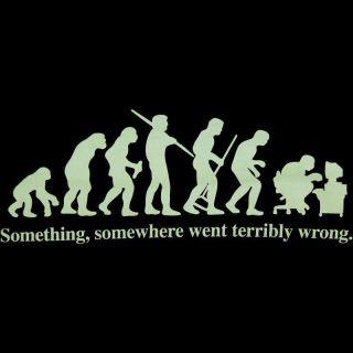 Funny Evolution Computer User T Shirt Nerd Geek L Fun