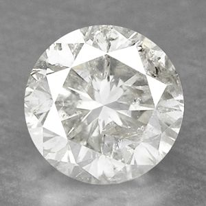 Fiery 0 61 cts Fancy Sparkling White Color Natural Diamond