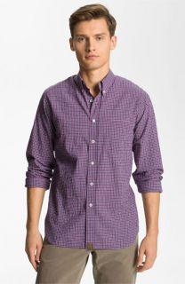 Billy Reid Tuscumbia Plaid Woven Shirt