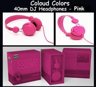 Coloud Colors 40mm Pro DJ Headphones Pink