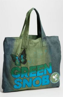 Love This Planet Green Snob Canvas Tote