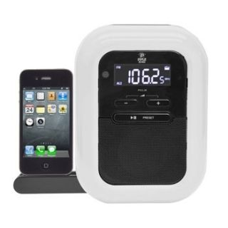 Pyle Clock Radio iPod/iPhone Docking Station w/FM Receiver & Dual