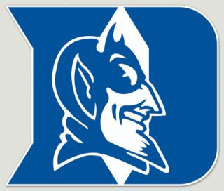 Duke Blue Devils Logo Football Vinyl Decal Car Truck Laptop Sticker 4