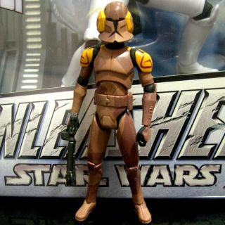 Star Wars The Clone Wars Special Ops Trooper Target Exclusive tcw CW