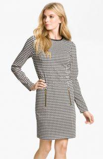 MICHAEL Michael Kors Leather Trim Dress