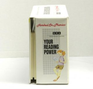 HOOKED ON PHONICS Cassettes YOUR READING POWER Tapes KIT Program