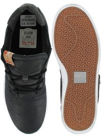 Globe COMANCHE Low Distress Black Mens Skate Shoes 10227 Size 8 5 New