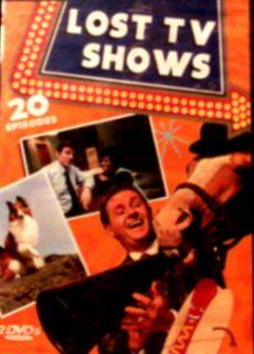 Lost TV Shows 20 Shows 12 Diff Series Combat Mr Ed Sea Hunt Mannix