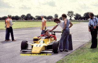 Ayrton Senna FF2000 Van Diemen Castle Combe Photo 1982
