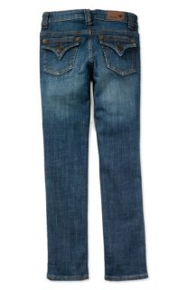Vigoss Flap Pocket Skinny Jeans (Big Girls)