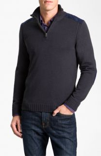 BOSS Black Quarter Zip Regular Fit Sweater