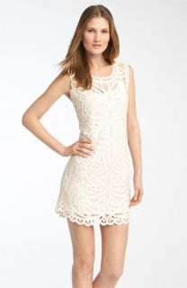 BCBGMAXAZRIA Crochet Lace Dress