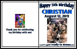 10 WWE Wrestling Entertainment Coloring Books Party Favours