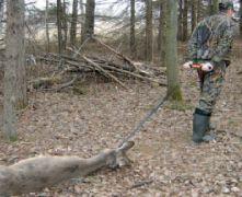 HME Pro Series Deer Drag Hunting Strap Handle Dragging System Works w