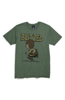 Junk Food Blitzed Screenprint T Shirt