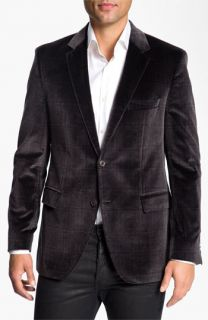 BOSS Black Smith Velvet Plaid Sportcoat