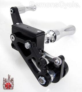 New Black Billet Custom Forward Controls for Harley Davidson Big Twins