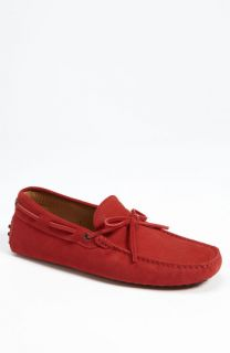 Tods Gommini Lace Up Moccasin Driving Shoe