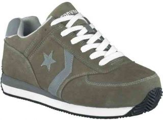 Converse C197 Womens Suede Leather Retro Jogger Oxford Steel Toe