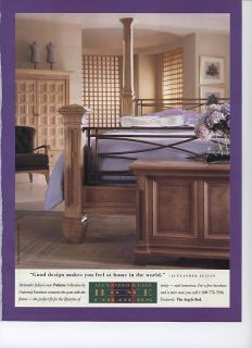 Alexander Julian Home Colours 1998 Magazine Ad