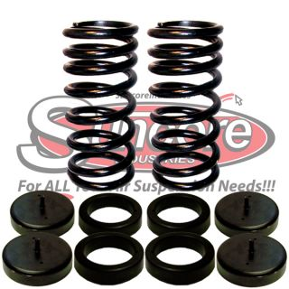 Rear Suspension Air Bag to Coil Spring Conversion Kit