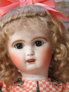 1907 Jumeau Bleuette Friend Antique Reproduction Doll 2 by Connie Zink