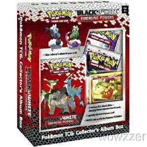 Pokemon Black White Emerging Powers Collectors Album Box Case 20 Boxes