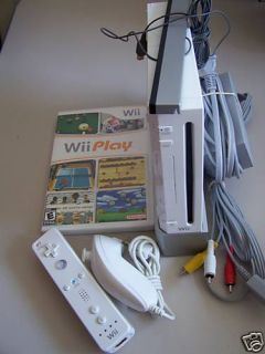 Used Nintendo Wii System Console Wiimote Wii Play