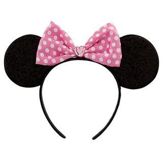 Disney Womens Girls Minnie Mouse Pink Headband Dress Up Costume