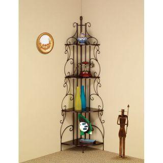 Copper Corner Shelf by Coaster Furniture from Brookstone