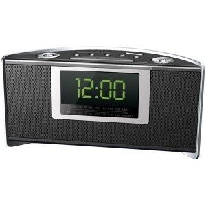 Coby CRA59 Contemporary Design Digital Alarm Clock Radio