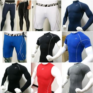 Mens Thermal Compression Base Layer Underwear Pants Tights Shorts Top