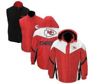 NFL Kansas City Chiefs 6 in 1 Jacket —