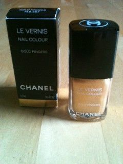 Coco Chanel GOLD FINGER nail polish NIB