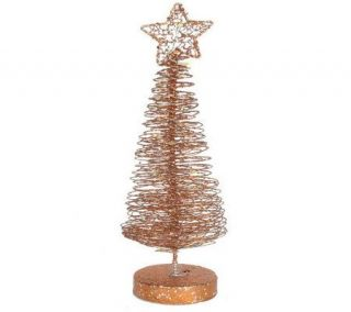 16 Battery Operated Spiral Christmas Tree by Valerie —