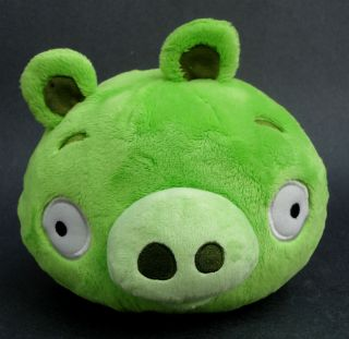 Green Pig Bad Piggies Commonwealth Plush Toy 6 Tall Rovio 2010