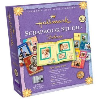 Scrapbook Studio Deluxe (Ver 3) Windows PC Computer Software BRAND NEW