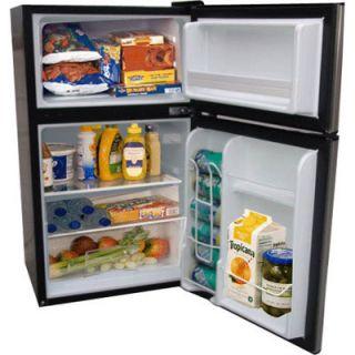 CU ft Refrigerator Freezer Capacity Fridge Small Compact Mini