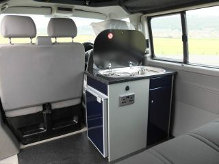 Camper van conversion Units Electrics Carpet lining VW t4 t5