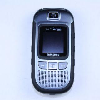 Samsung Convoy SCH U640 Verizon Black Fair Condition Cell Phone